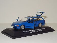 Schuco Diecast 1:43 BMW E39 5-Series Touring Wagon Blue w/Display Case & Box