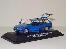 Schuco Diecast 1:43 BMW E39 5-Series Touring Wagon Blue w/Display Case & Box