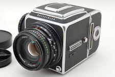 【Exc+++++】HASSELBLAD 500CM C/M w/ A12 II & C 80mm F/2.8 T* Lens From JAPAN #196