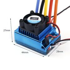 120A ESC Sensored Brushless Speed Controller For 1/8 1/10 Car/Truck Crawler XT