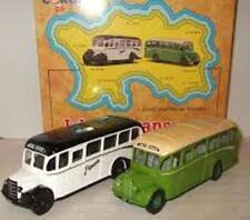 Corgi 97741 ISLAND TRANSPORT Set of 2 diecast model Jersey Bedford OB Coaches