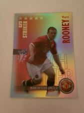 Manchester United Shoot Out Football cartes x 12 Inc FOIL Wayne Rooney