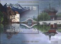 Schweiz Block28 (kompl.Ausg.) postfrisch 1998 Schloß Chillon