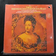 Purcell / David Munrow - Birthday Odes For Queen Mary LP New Sealed S-37251 Quad