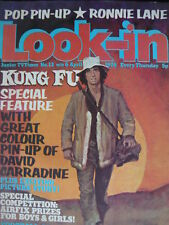 LOOK-IN MAGAZINE 6TH APRIL 1974 - KUNG FU - RONNIE LANE