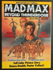 MAD MAX Beyond Thunderdome - Official Movie Collectors Magazine & Poster MINT