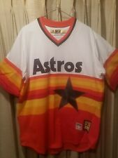 NWOT Vtg Majestic Cooperstown Coll. Houston Astros Nolan Ryan Jersey (Sz L) #1/3