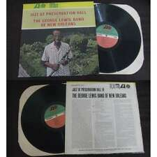 GEORGE LEWIS BAND OF NEW ORLEANS-Jazz At Preservation Hall LP Jazz 1963 US