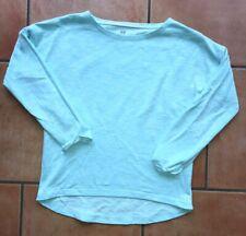 Mädchen H&M Basic Langarm-Shirt mint Türkis Gr. 146/152 neuwertig