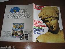 EPOCA 1971/1104=SAIGON=ROMA ANTICA COME ERA=VERNON JARRAT=