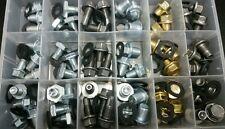 120 pcs OIL DRAIN PLUG& washersASSORTMENT 60 PIECES Kit wth 60 Washers 6 sizes