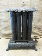 Vintage Vulcan Jewel Glass Cast Iron Metal Stove > Antique Heating Furnace 9410