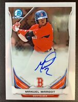 MANUEL MARGOT 2014 Bowman Chrome Autograph Prospects #BCAP-MM Rookie Auto