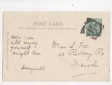 Miss L Fox Rectory Road Ipswich 1904 498b