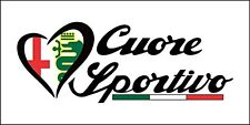 Alfa Romeo Cuore Sportivo flag 1500mm x 900mm (of)