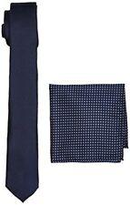 Burton Menswear London Navy Texture Set Coffret Cravate Homme Blue (navy) ...