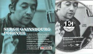 Serge Gainsbourg  CD FOREVER  ( PROMO )