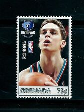 SELLOS TEMA DEPORTES. GRENADA 2004 MEMPHIS  BALONCESTO PAU  MH NBA 1v.