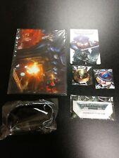 Warhammer 40k Indomitus badge and promo items