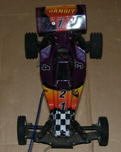 Vintage  Traxxas Bandit   2WD   1/10th RC Buggy