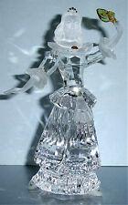 Swarovski Masquerade Columbine Crystal Figurine SCS 2000 & Plaque New No Box