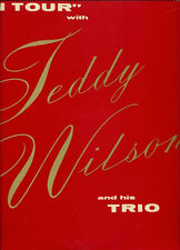 RECORD ALBUM - LP - TEDDY WILSON - ON TOUR WITH TEDDY WILSON AND HIS TRIO