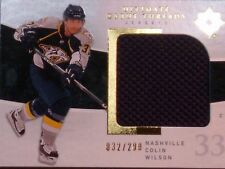 09-10 UPPER DECK ULTIMATE COLLECTION  -  COLIN WILSON JERSEY