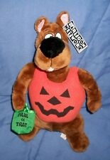 Scooby Doo Plush Halloween Costume Pumpkin Jack-o-lantern Trick or treat 16 Inch