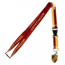 Harry Potter Gryffindor Crest School Breakaway Lanyard With Rubber Charm