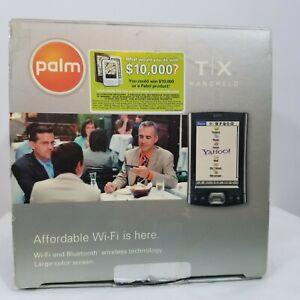 Palm TX Handheld PDA Organizer Bluetooth Wi-Fi New Open Box