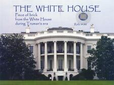 The White House- Relic Card w/Brick Remnants from Truman's Presidency