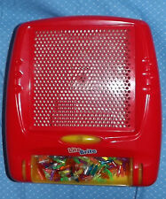 travel Lite Brite 2003 w/Covered Peg Holder, Pegs, VGUC light, Works,  Red