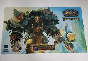 World of Warcraft Trading Card Game Battleground Master Tauren Playmat Blizzard