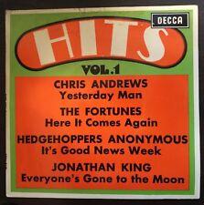 "Hits Vol. 1 EP 7"" Australian Issue 1965 Fortunes/Chris Andrews/Jonathan King"