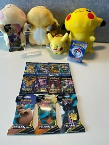 1999 Pokemon 2-Player Starter Set + Hidden Fates & Evolutions Boosters ++++