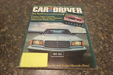 CAR AND DRIVER SPY STUFF! HERE'S YOUR 1982 CAMARO NOVEMBER 1980 VOL.26 #5 9248-1