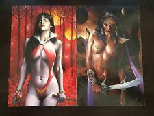 Vampirella Vs Reanimator 3 & Barbarella Dejah Thoris 2 Fred Ian NM 9.4
