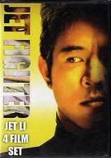 The Jet Fighter Collection: Jet Li 4-Film Set (DVD, 2008, 2-Disc Set) RARE NEW
