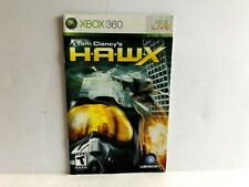 HAWX Xbox 360 MANUAL ONLY Insert Replacement