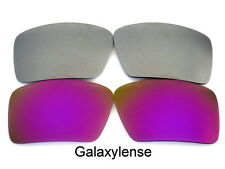 Galaxy Replacement Lenses For Oakley Eyepatch 1&2 Sunglasses Purple&Gray