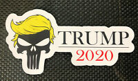 Trump Punisher 2020 Presidential Logo Vinyl Decal Sticker FREE SHIPPING
