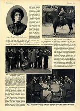 Grubenfahrt der oberschlesischen Landräte in Lipine 5. Automobiltag Breslau 1904