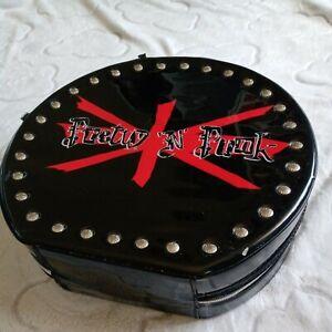 Bratz Rock Pretty N Punk Fashion Organizer Carry Case black,red large zipup tote