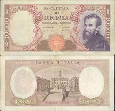 10.000 LIRE MICHELANGELO DEC.20/05/1966  BB