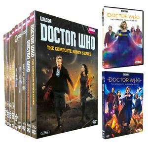 DOCTOR WHO:COMPLETE SERIES, SEASONS -1-12,DVD SET, FREE SHIPPING, NEW.