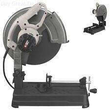 Heavy Duty Electric Cut Off Chop Saw Metal Cutting Steel Base 4 HP 14 Inch Tool