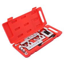 14pcs Flaring Tool Kit Brake Gas Water Line Tubing Swaging Automotive Plumbing