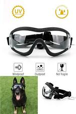 Dog Goggles - Dog Eye Protection Doggles Windproof Clear Medium - Large Sz Dog