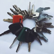 20 Keys Heavy Equipment / Construction Ignition Key Set Cat Case JD Bobcat Volvo
