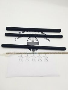 Fully Threaded UNF Stud 300mm Long Steel Plated Stud Rod Bar Thread